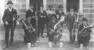 Eine Aufnahme aus der Gründungszeit des Musikvereins