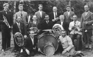 Die Aktiven des Musikvereins im Jahre 1949