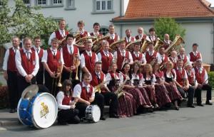 Der Musikverein im Jubiläumsjahr 2009 (90 Jahre)