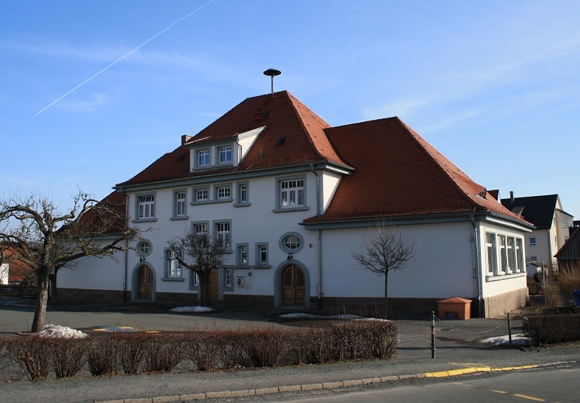 Proberaum im alten Schulhaus Burghaig