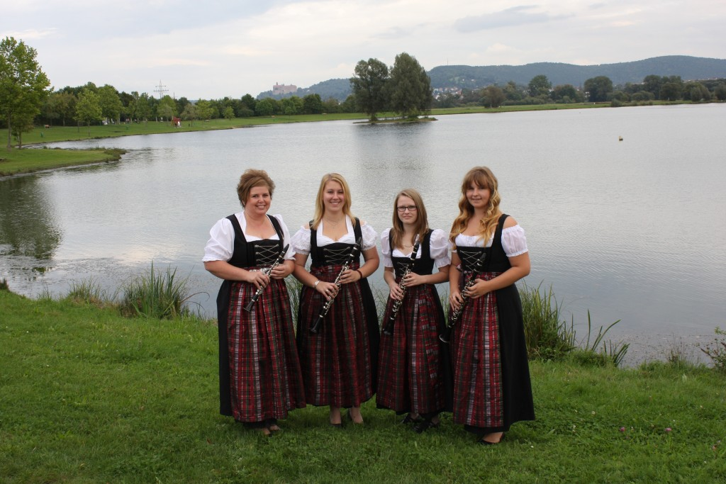 v.l.: Susanne Zrenner, Janina Bleyl, Antonia Hahn, Jana Teller